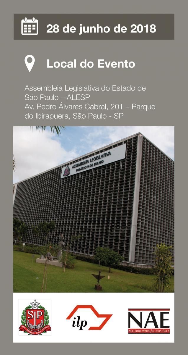Localização do Seminário de Medicina Personalizada