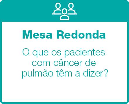 Mesa Redonda -O que os pacientes com câncer de pulmão têm a dizer?