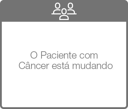 O Paciente com Câncer está mudando