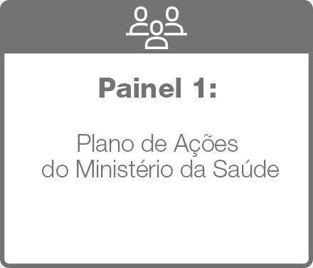 painel 1: Plano de Ações do Ministério da Saúde