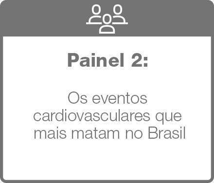 painel 2: os eventos cardiovasculares que mais matam no Brasil